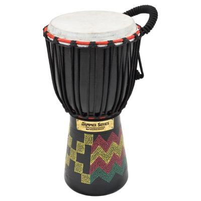 Percussion Workshop Bdj630 K 6-inch Kente Cabeza Djembe