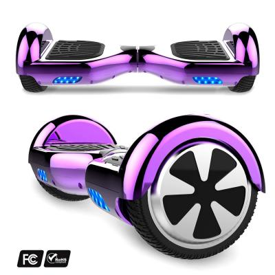 MARKBOARD Patinete Eléctrico 6.5 Hoverboard con Luces LED